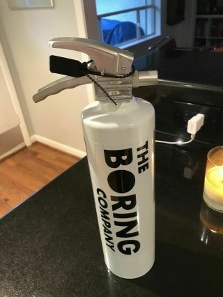 The Boring Company Not A Flamethrower Fire Extinguisher Elon Musk Cap