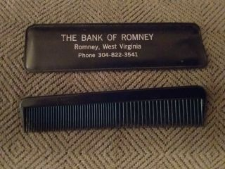 Vintage Romney,  West Virginia Advertising (comb And Case)