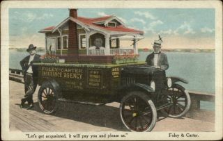 Foley - Carter Insurance Agcy Car Made Into Model House St.  Petersburg Fl Cancel