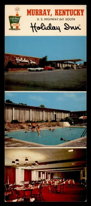 Vintage Elongated Pc Holiday Inn Advertising Murray Ky