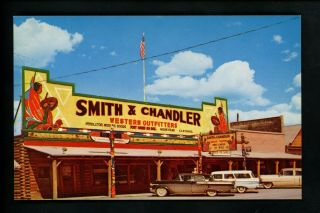 Advertising Postcards On Postcard Store Smith & Chandler Yellowstone,  Mt Chrome