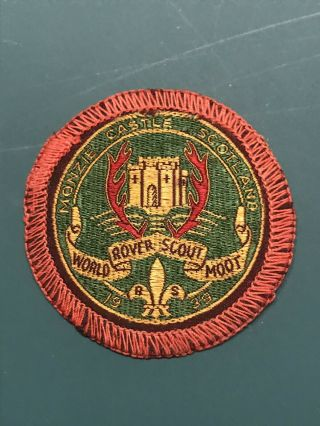 Boy Scout 1939 World Rover Scout Moot Participant Badge