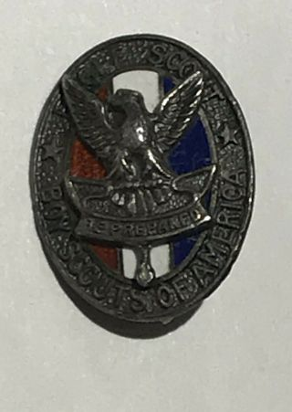Eagle Scout Hat Pin Sterling No Bsa Bc1