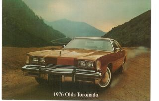 Kansas City 76 Olds Tornado Advertising Cunningham Oldsmobile 27th Main 5x7 Mo