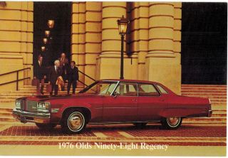 Kansas City 76 Olds Ninety Eight Advertising Cunningham Olds 27th Main 5x7 Mo