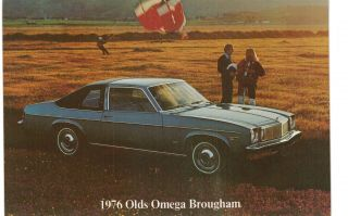 Kansas City 76 Olds Omega Brougham Advertising Cunningham 27th Main 5x7 Mo