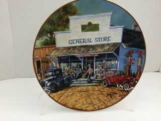 General Store Red Oak Sampler Collector 1st Limited Edition 845 By Lowell Davis