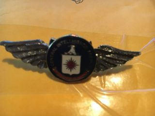 Central Intelligence Agency C.  I.  A.  Seal Logo Wings Pin