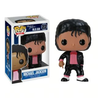 Michael Jackson Funko Pop Billie Jean 22 Vinyl Figure - - Music Pop