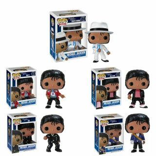 Funko Pop Michael Jackson Beat It Billie Jean Bad Vinyl Action Figures Juguete