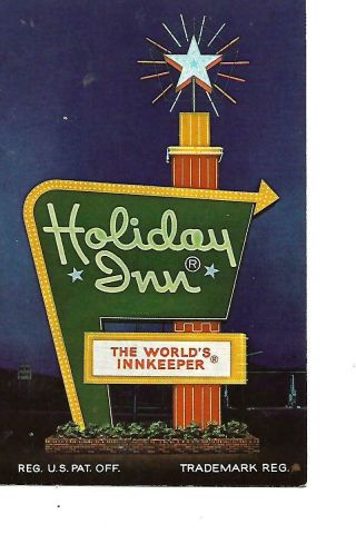 Holiday Inn Of Cookeville,  Tennessee 1960