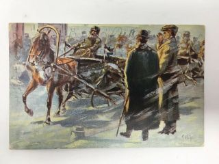 1912 The May Company Advertising Postcard Art Calendar