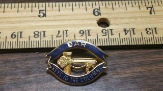 Dar Daughters Of The American Revolution Keys To The Column Pin