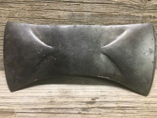 """Vintage Plumb Jet Wing 3 2 Double Bit 10 """" Axe Head Usa Made Logging Axe"""