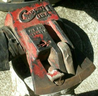 Vintage Chopper 1 Axe Head Only Made In Usa