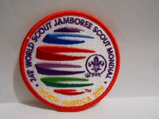 2019 World Jamboree Red Border Youth Participant Patch (rare)