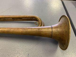 Vintage Rexcraft BSA Boy Scouts of America Official Bugle 7