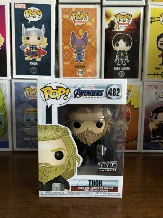 Funko Pop Marvel Fye Exclusive Thor Mjolnir And Stormbreaker Hammers 482