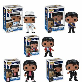 Funko Pop Michael Jackson Beat It Billie Jean Bad Sm00th Criminal Figures