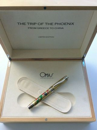 Omas The Trip Of The Phoenix Prototype 8 Pens Produced Only 49,  000 $$ Msrp