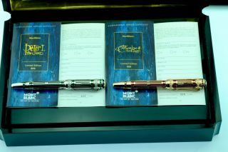 MONTBLANC PETER I & CATHERINE II SET HOUSE ROMANOV GOLD 435/888 2