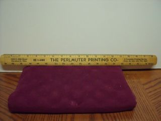 "Vintage 18"" Falcon Wood Ruler Printing Letterpress Offset Advertising W/picas"
