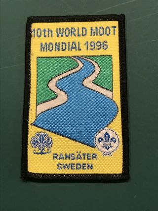 Boy Scout 1996 World Rover Scout Moot Participant Badge
