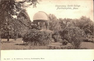 Northampton,  Massachusetts - Smith College - Observatory - Astronomy,  Telescope