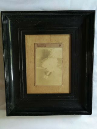 Vintage Antique 1912 Mason,  Swan & Morgan Frame And Love Messages