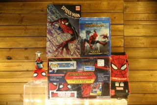 Funko Pop Spider - Man Homecoming: Pop 259 & Blu - Ray Limited - Edition Gift Box