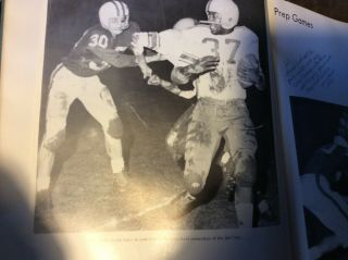 Nfl Football Dallas Cowboys Mel Renfro High School 1960 Myearbook 10x Pro Bowl
