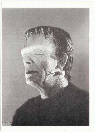 Glenn Strange In Abbott And Costello Meet Frankenstein Movie Postcard