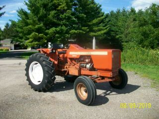 Allis Chalmers 160 Diesel Antique Tractor Compact Utility 3 Point Pto