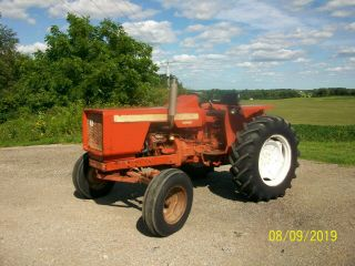 Allis Chalmers 160 Diesel Antique Tractor compact utility 3 Point PTO 2