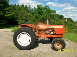 Allis Chalmers 160 Diesel Antique Tractor compact utility 3 Point PTO 3