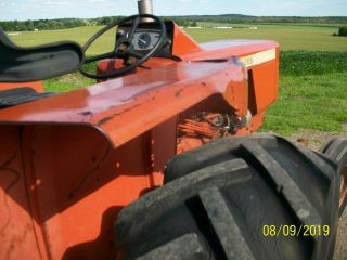Allis Chalmers 160 Diesel Antique Tractor compact utility 3 Point PTO 5