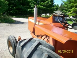 Allis Chalmers 160 Diesel Antique Tractor compact utility 3 Point PTO 6