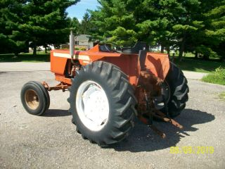 Allis Chalmers 160 Diesel Antique Tractor compact utility 3 Point PTO 7
