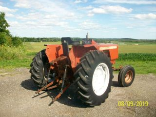Allis Chalmers 160 Diesel Antique Tractor compact utility 3 Point PTO 8