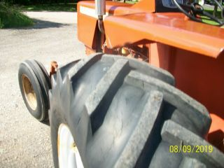Allis Chalmers 160 Diesel Antique Tractor compact utility 3 Point PTO 9