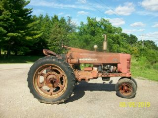 1954 Farmall International 300 Antique Tractor Live Hydraulics & PTO 4