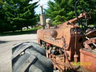 1954 Farmall International 300 Antique Tractor Live Hydraulics & PTO 5