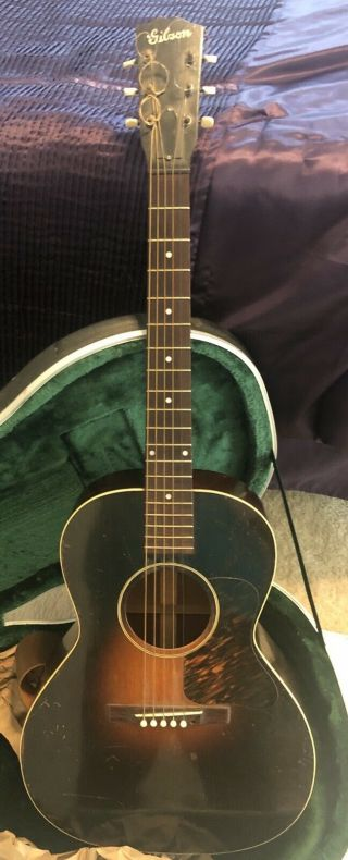 Antique Gibson L - 00 Guitar 1930's