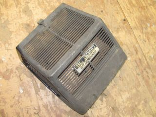 Vintage Yamaha Snowmobile 1973 Sl 338 Engine Cowl Lid Air Box