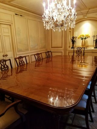 Dining Room Table,  Antique Rare Built In 1870 And Can Extend 20