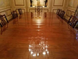 Dining room table,  antique rare built in 1870 and can extend 20 ' long by 6 ' wide 5