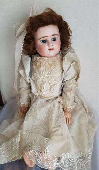 Antique French Doll Etienne Denamur Size 9