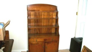 Vintage L.  & J.  G.  Stickley Small Cherry Hutch,