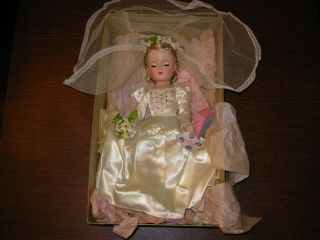 Vintage Madam Alexander Bride Doll Wendy