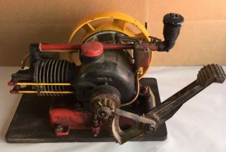 Nelson Brothers 1 Hp Engine Antique Air Cooled Gas Motor Hit And Miss